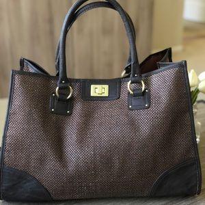 Beautiful Brown H&M Tote Bag